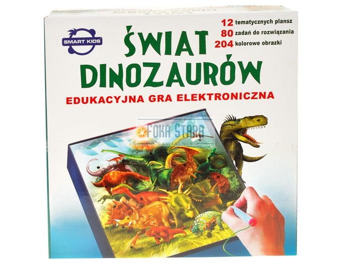 Świat dinozaurów gra elektroniczna
